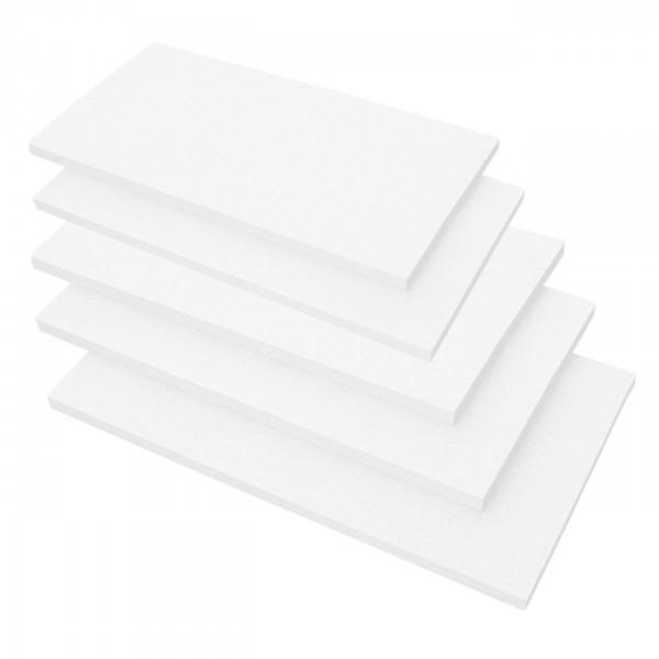 Hitzebeständige Platten für Kaminverkleidung - Set mit 5 Stück