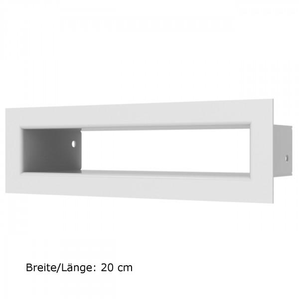 Luftleisten TUNEL in Weiß und verschiedenen Größen