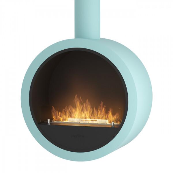 Incyrcle Bio-Ethanolkamin Deckenmontage Hellblau