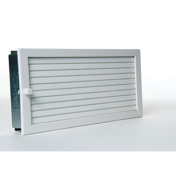 CB-Revisions-Warmluftgitter 45x45 weiß