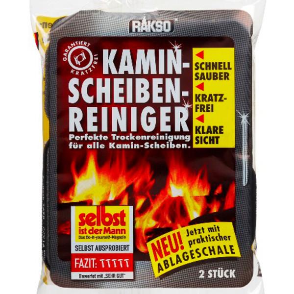 Rakso Kamin Scheiben Reiniger - 2 Stück