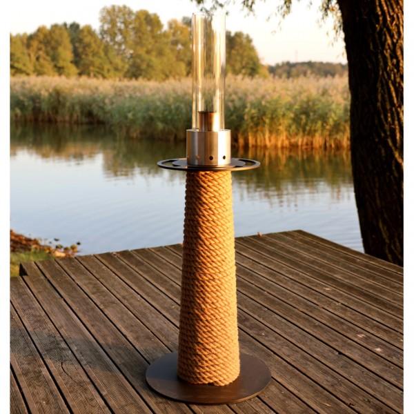 Masuria Bio-Ethanol Lampe Schwarz