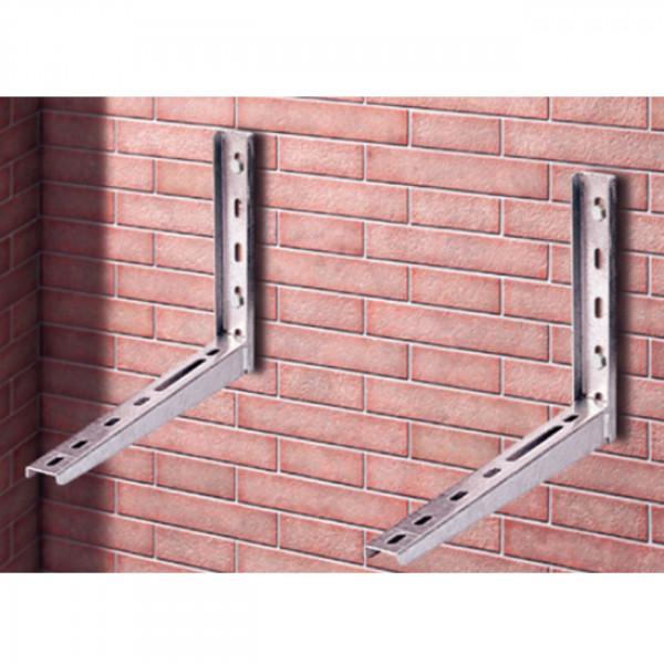 Wandhalterung verzinkt für Klimaanlagen und Wärmepumpen bis 160 kg
