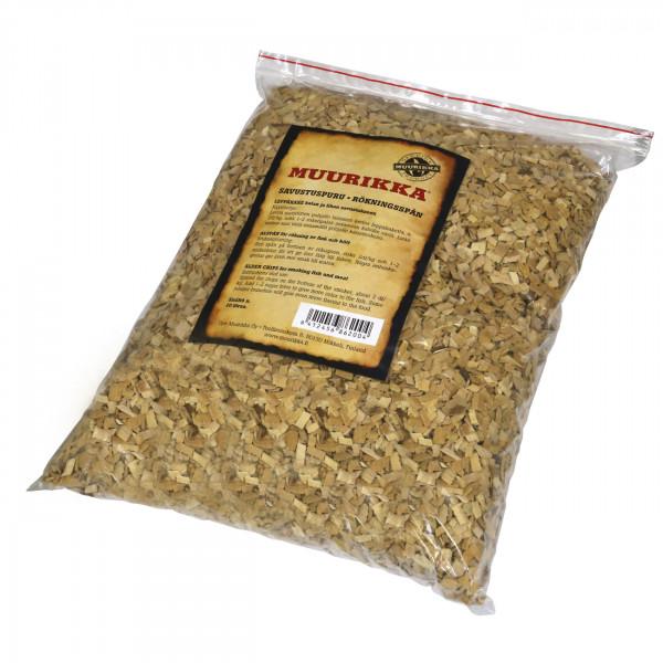 Muurikka Räucherspäne Räucherchips 10 Liter aus Erlenholz
