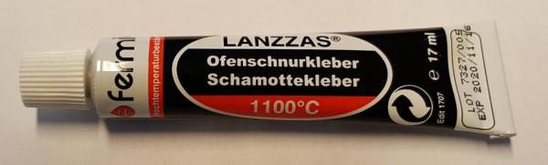 Fermit Hochtemperatur Kleber für Schamotte oder Dichtschnur mit 17 ml