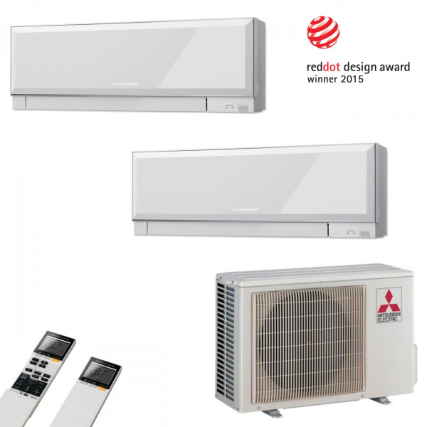 MultiSplit Klimaanlage Premium 2+2 kw Kühlen