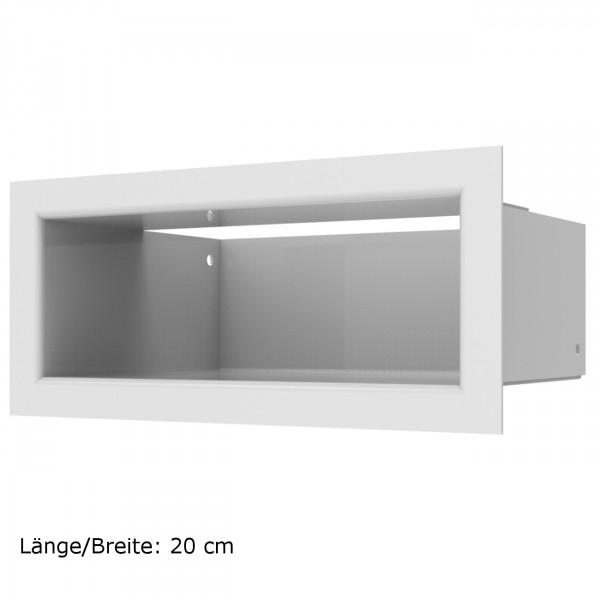 Luftleisten LUFT in Weiß und verschiedenen Größen - Höhe 9 cm