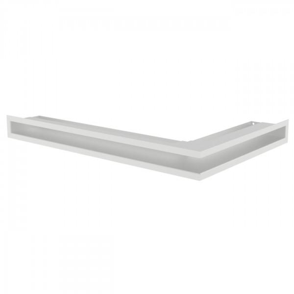 Eckluftleiste LUFT Links 60x40 cm Weiß