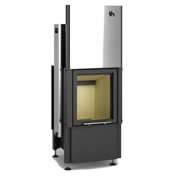Smart 1VH Warmluft-Kamineinsatz 7kW mit Hochschiebbarer Tür