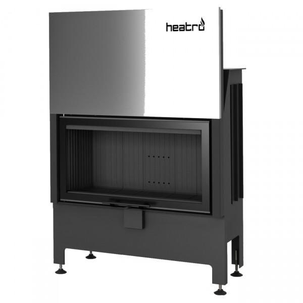 Heatro 81H Black Kamineinsatz mit Hebetür 12kW