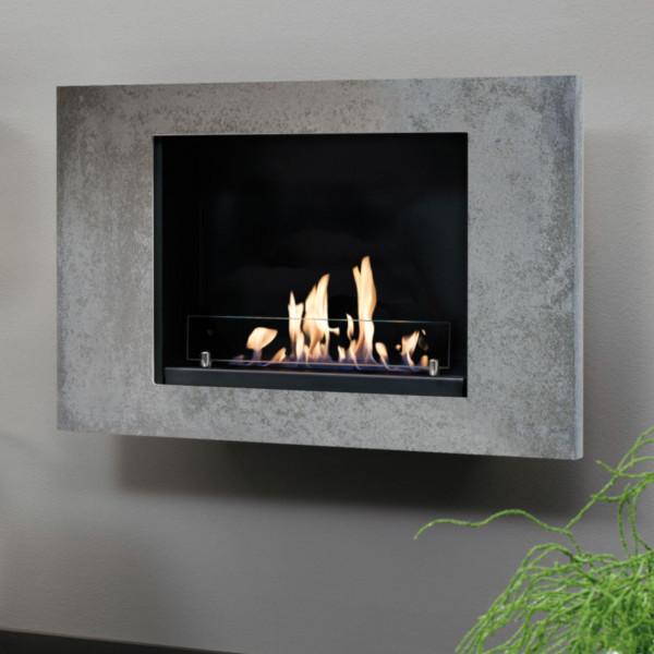 Goya Bio-Ethanolkamin Concrete Look Keramik Brenner