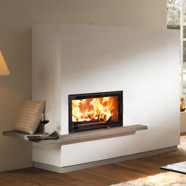 Miu Xtra Designer Kaminbausatz 10kW DIBt und Wärmespeicherung