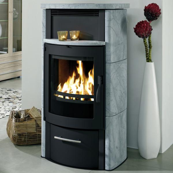 BS 200 7kW Kaminofen Wärmespeicherung