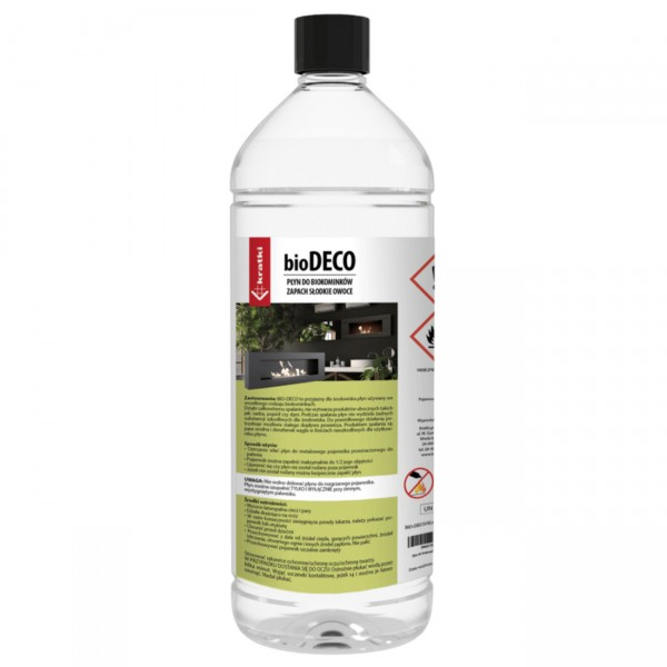 Süße Früchte-Duft Biobrennstoff / Bio-Ethanol für Biokamine - 1 Liter