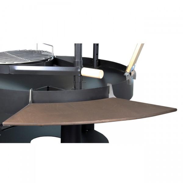 Großer Seitentisch Tundra Grill mit 12 mm laminierte Birke