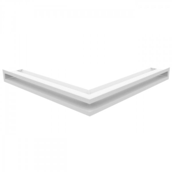 Eckluftleiste LUFT 56x56 cm Weiss