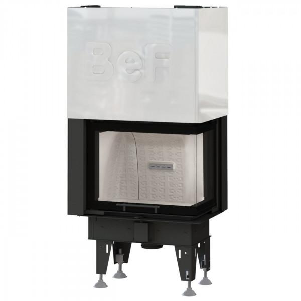 Feel V8CP Eck-Kamineinsatz 8kW für Niedrigenergiehäuser