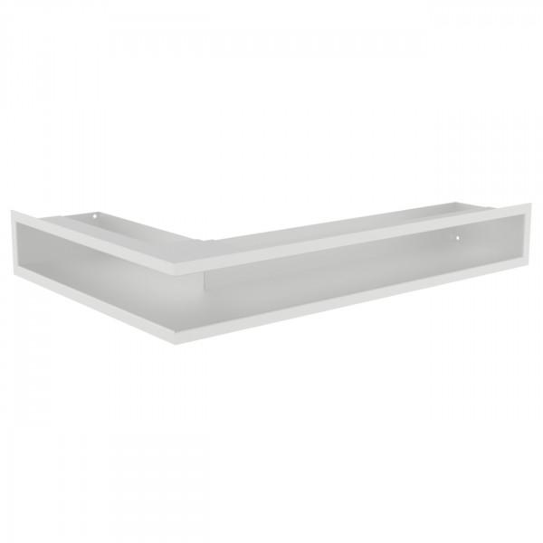 Eckluftleiste LUFT Rechts 40 x 60 cm in Weiß