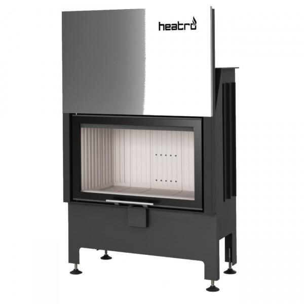 Heatro 69H Kamineinsatz mit Hebetür 11kW