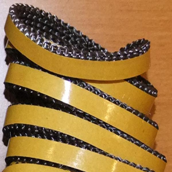 Glasfaserband Flachdichtung mit Klebstoff 2 Meter Länge