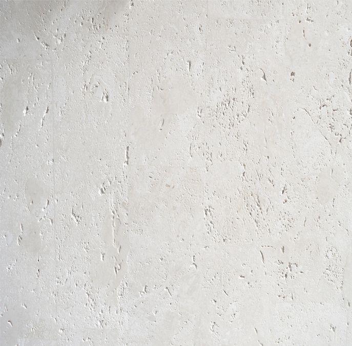 Materialmuster-Fossilstein-weiss-unpoliert