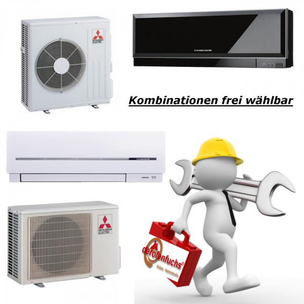 Andere Klimaanlagen Modelle und Kombinationen auf Anfrage