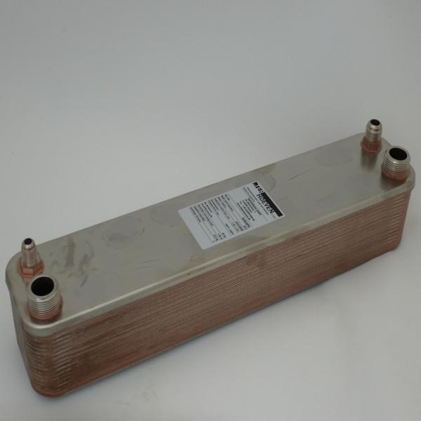 Wärmepumpen Plattenwärmetauscher 12 kW 52/30/WP01