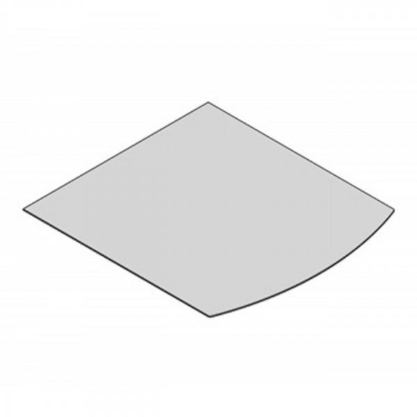 Glasbodenplatte Segmentbogen mit 1000x1200 mm