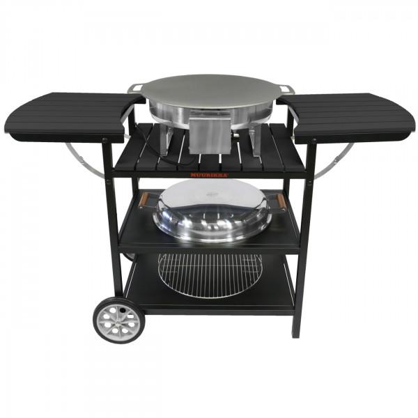 Muurikka Outdoorküche Elektro Maxi Küchenwagen Pfanne