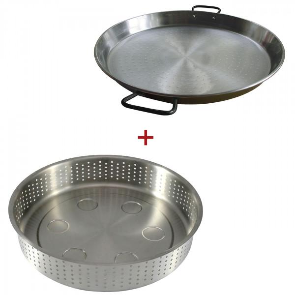 Muurikka Wärmeuntersetzer mit Servierplatte/ Paellapfanne 40 Ø cm