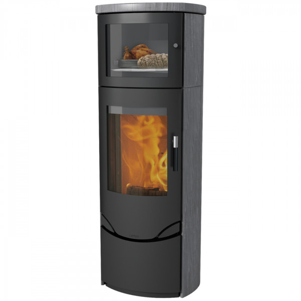 Prio 7M Indian Night Kaminofen 7kW Warmhaltefach