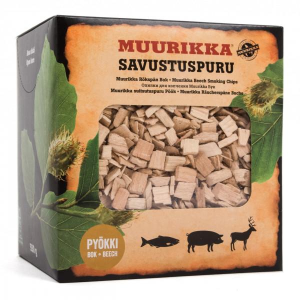 Muurikka Räucherspäne / Räucherchips Buche 550g