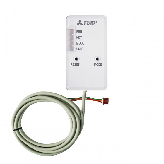 Mitsubishi WiFi-Adapter Wärmepumpe Steuerung über Smartphone-Tablet-PC