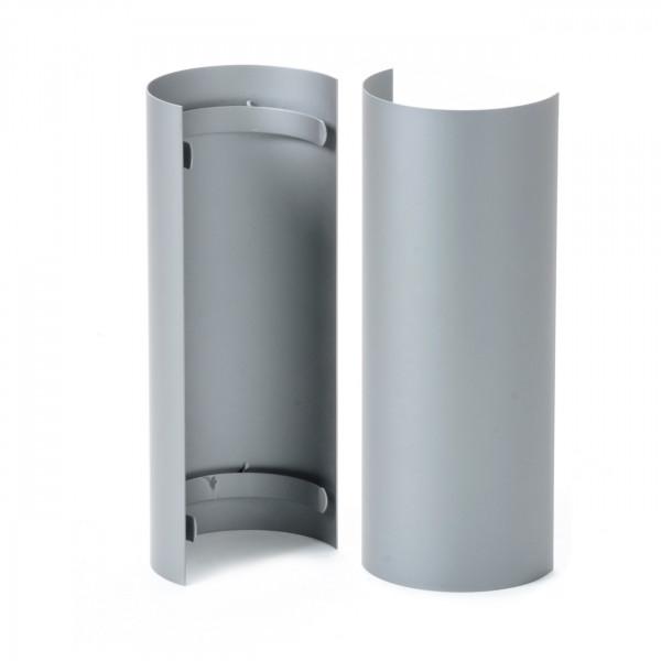 Hitzeschutzschild für gerades Rauchrohr - 150 mm Ø