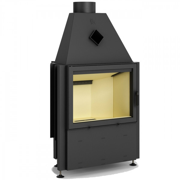 Prisma 1V Warmluft-Kamineinsatz 9kW