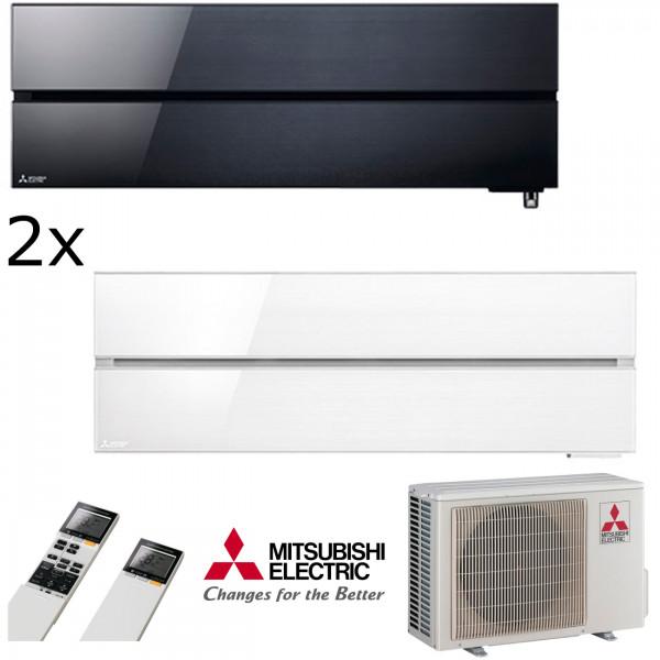 MultiSplit Klimaanlage Diamond 1+2 KW Kühlen
