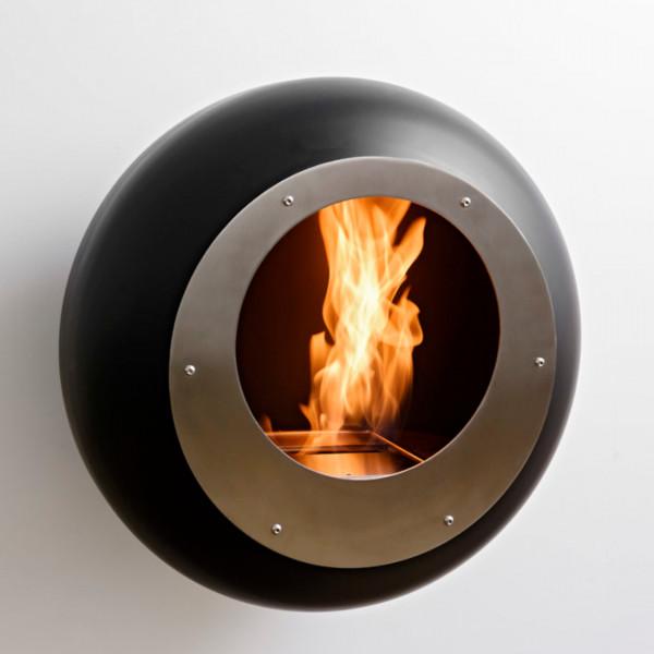Cocoon Fires VELLUM Designer Ethanolkamin Schwarz