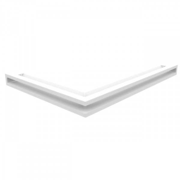 Eckluftleiste LUFT Rechts 40x60 cm Weiß