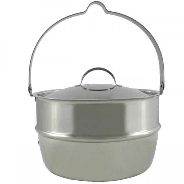 Muurikka Lagerfeuer Topf mit Henkel und Deckel 2,3 Liter