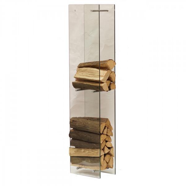 Holzständer Brennholz Rack aus Glas - Woodstock Rack