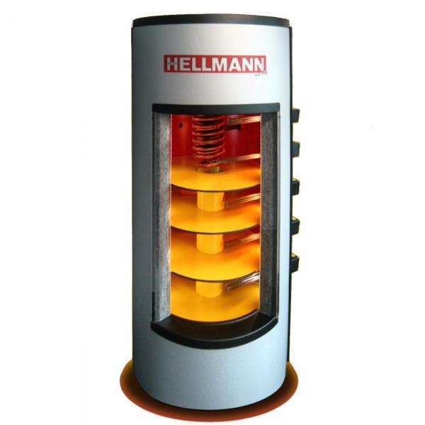 Wärmepumpen 5 Zonen Schichtenspeicher 650l