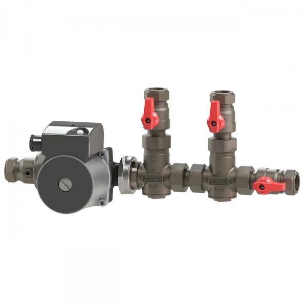Laddomat® 11-30 DUO Rücklaufanhebungsgruppe mit Klasse A Pumpe LM 6-A