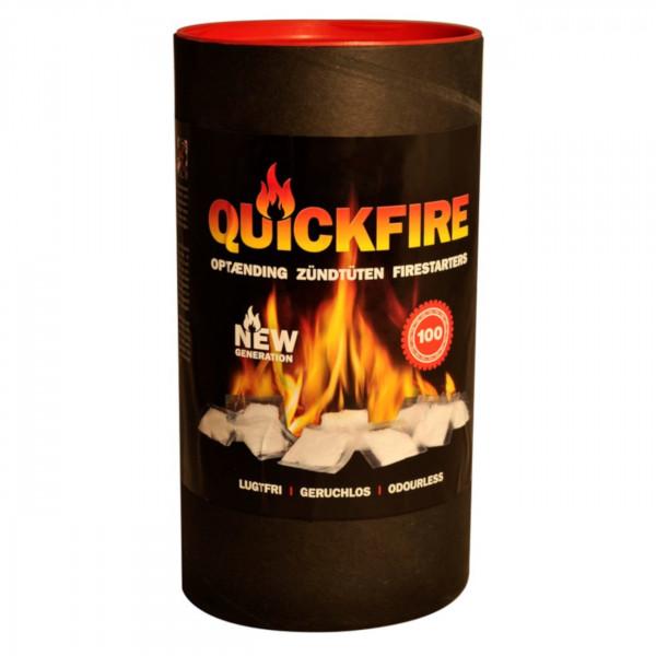 QuickFire Kamin- und Grill-Anzünder Packung 100 Stück