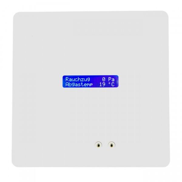 ZP4 Rauchzugwächter Unterputz mit LC-Display HOME Design