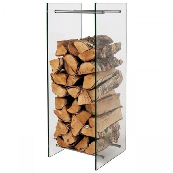 Holzständer Brennholzregal aus Glas - Woodstock Rack
