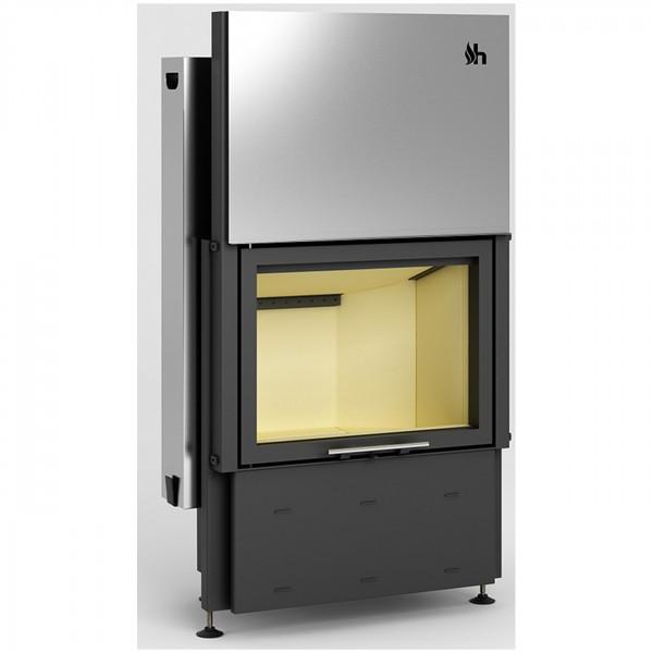 Prisma 1VH Warmluft-Kamineinsatz 9kW Hochschiebbarer Tür