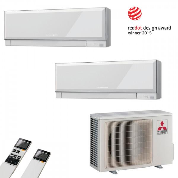 MultiSplit Klimaanlage Premium 2+1 kW Kühlen
