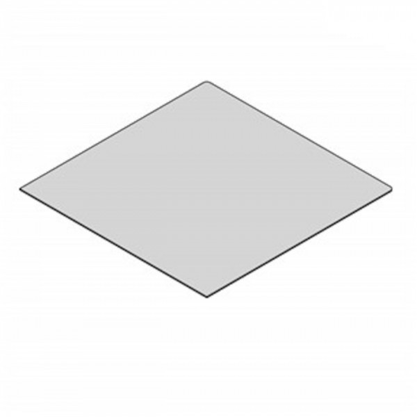 Glasbodenplatte Quadrat mit 1100x1100 mm