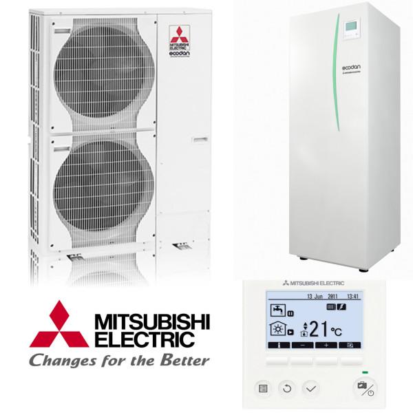 Mitsubishi Power Inverter Wp-Set 11.5 Speichermodul 12kW Heizen/Kühlen
