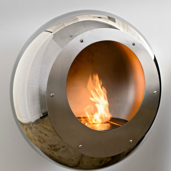 Cocoon Fires VELLUM Designer Ethanolkamin Edelstahl